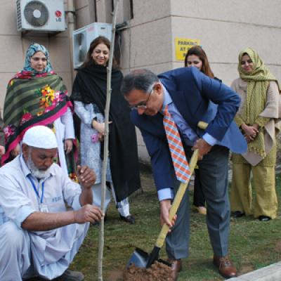 FUIC Organized a Tree Plantation Campaign